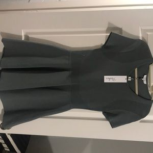 Parker Graphite Trace Knit Dress * NEW WITH TAGS *